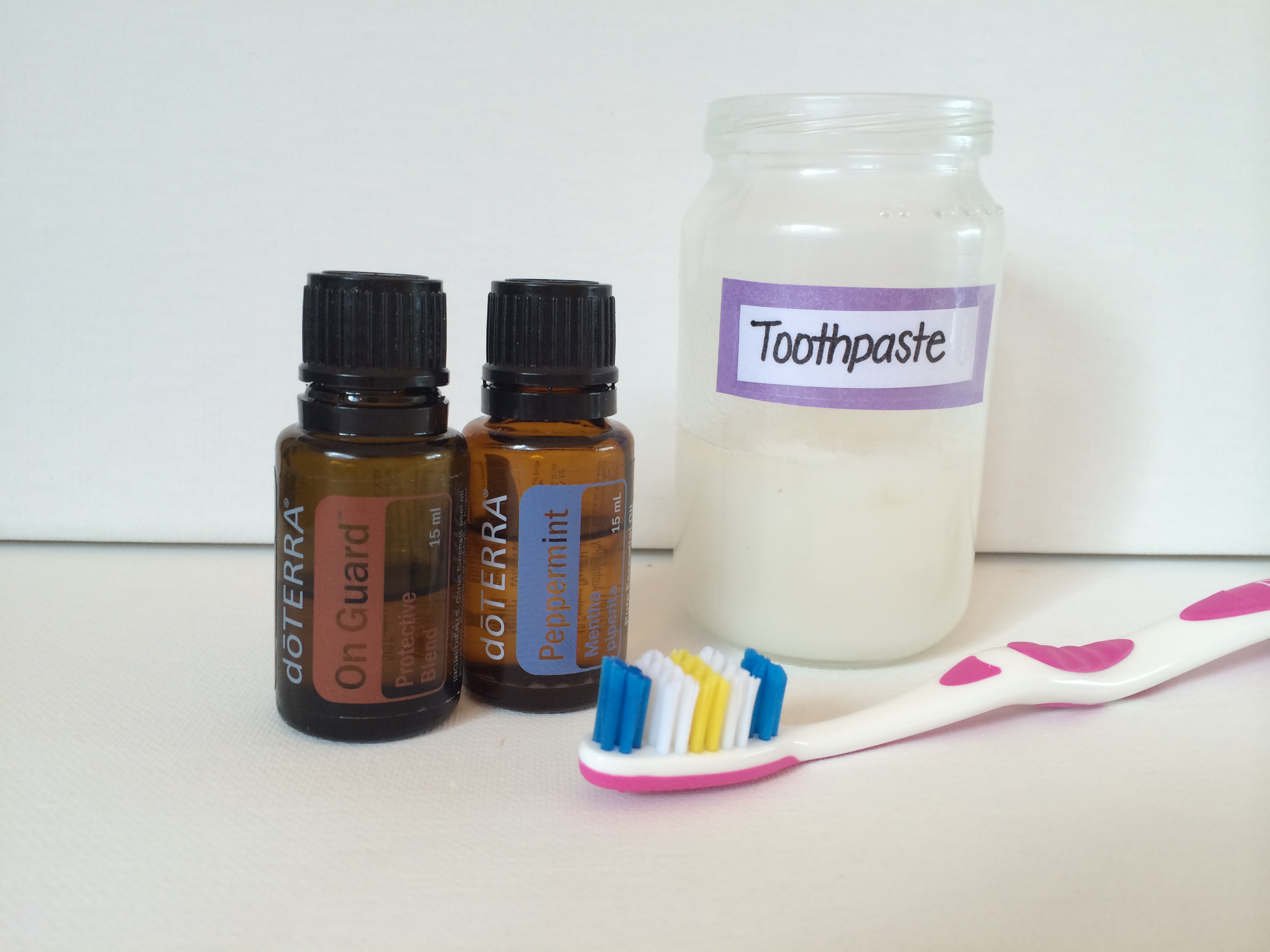 DIY Natural Toothpaste with doTerra Essential Oils