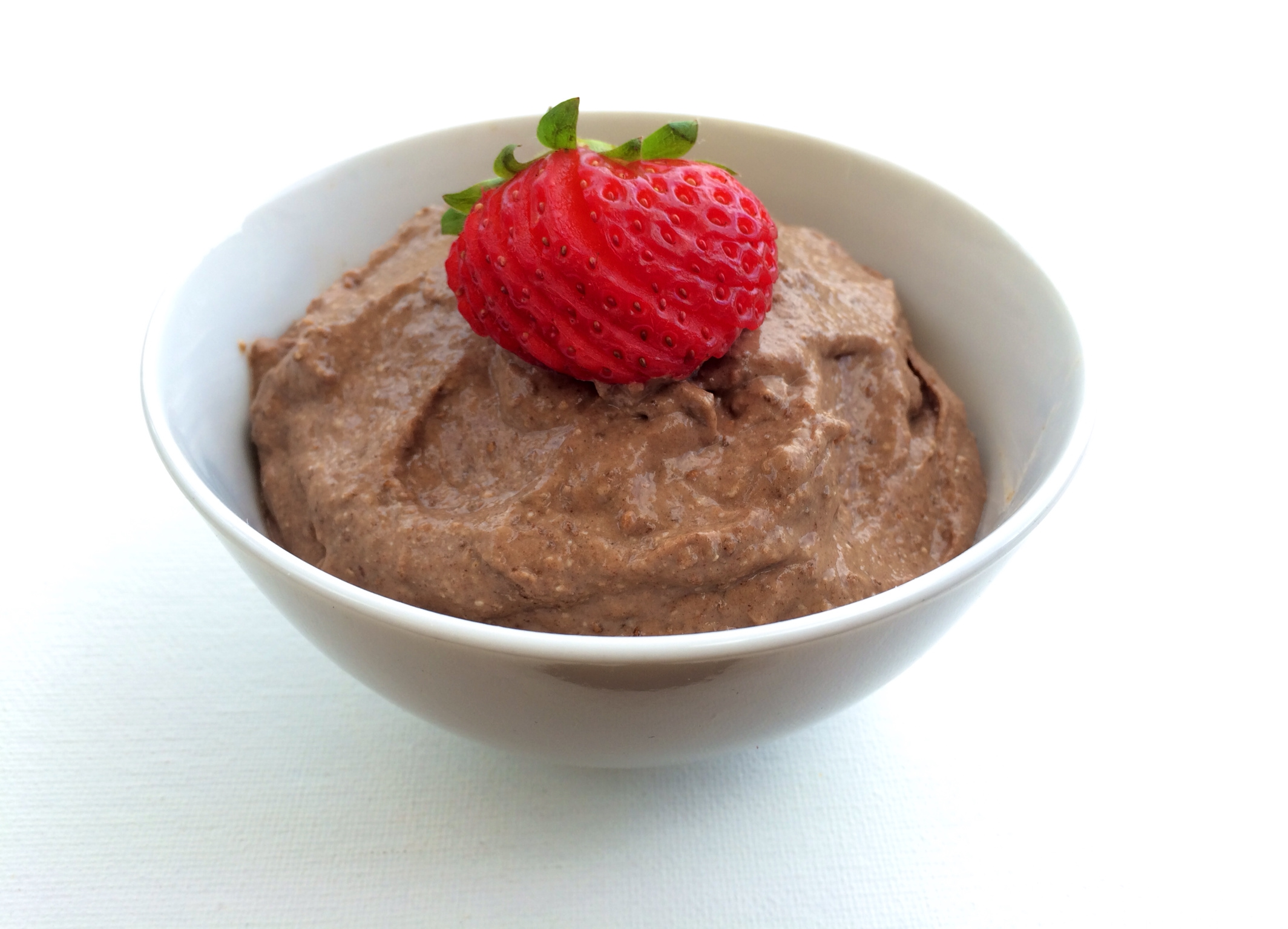 Cacao Chia Avocado Pudding
