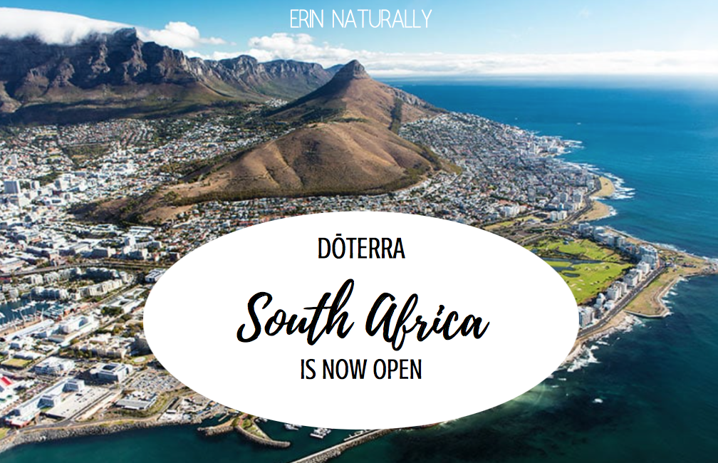 Hello dōTERRA South Africa!